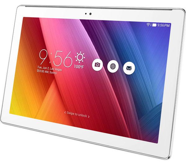 ASUS ZenPad Z300M 101quot Tablet 16 GB White Deals PC World