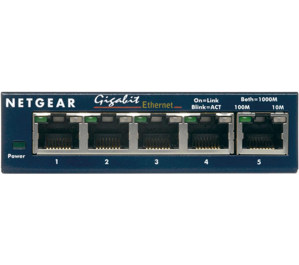 Ethernet Switches Series Gs605v5 Home Office Ethernet Switches