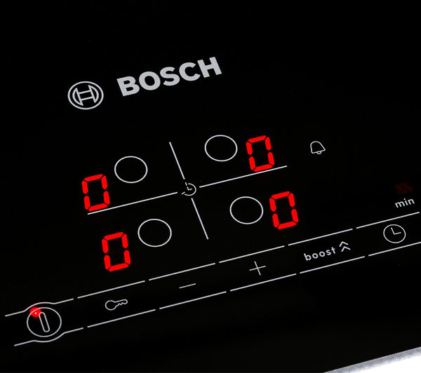 Buy BOSCH PIA611B68B Electric Induction Hob  Black  Free