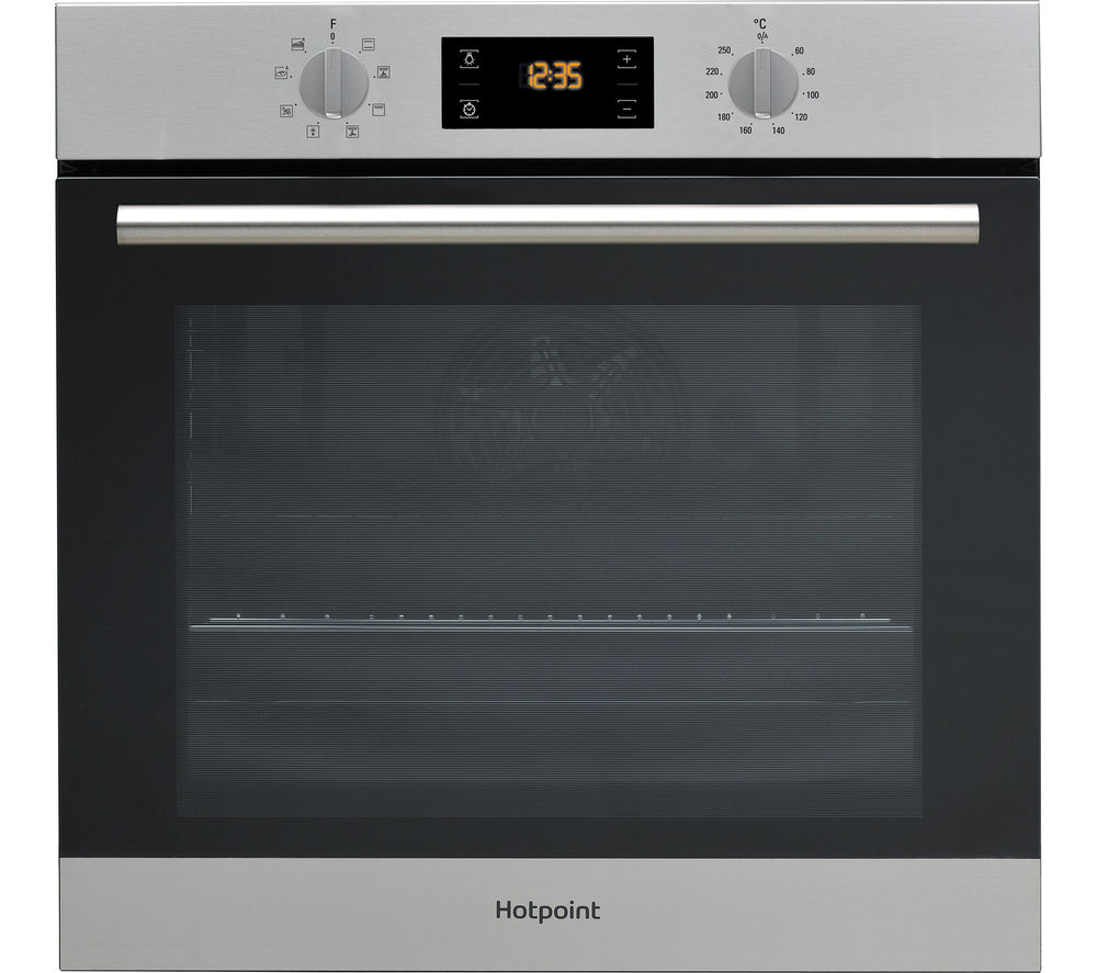 Buy HOTPOINT Class 2 SA2 544 C IX Electric Single Oven  Stainless Steel  Free Delivery  Currys