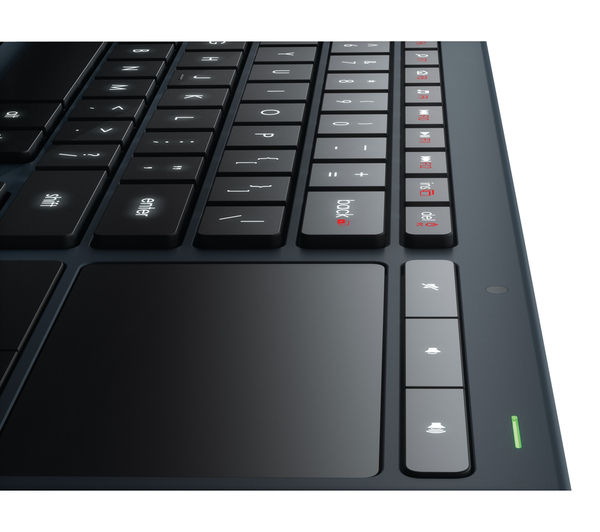 LOGITECH Illuminated LivingRoom K830 Wireless Keyboard