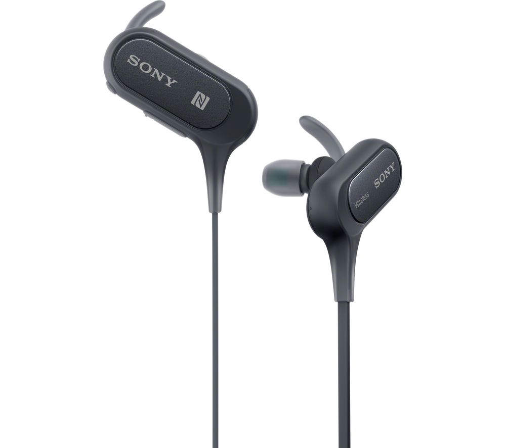 Buy SONY MDR-XB50BS Wireless Bluetooth Headphones - Black | Free Delivery | Currys