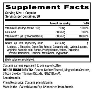 Cebria Ingredients and Dosage