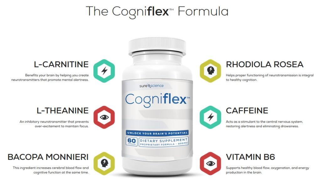 Cogniflex formula Ingredients