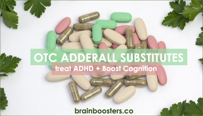 10 Best Over the Counter Adderall Substitutes for brain