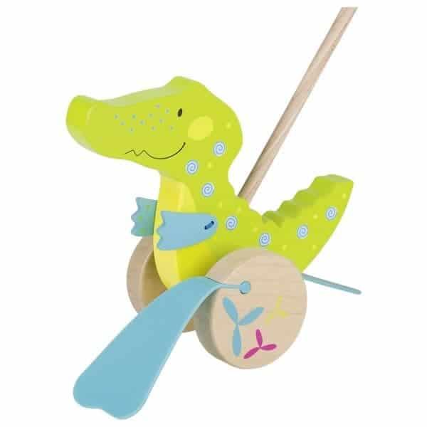 Schiebetier-krokodil