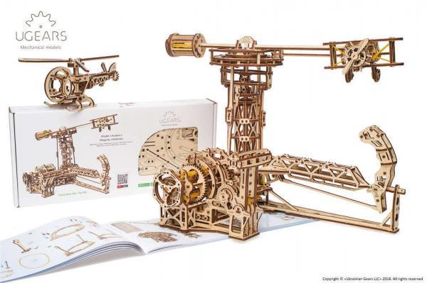 Ugears_Aviator_Model