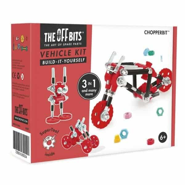 ChopperBit model kit with Super Tool-01