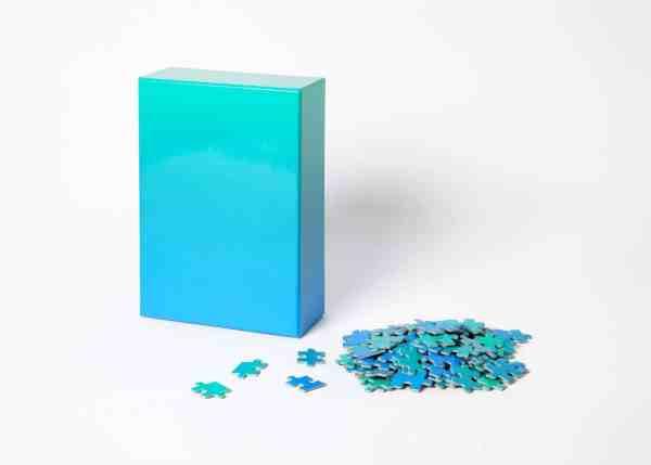 Gradient Puzzle - Blue-02