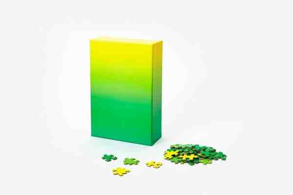 Gradient Puzzle - grüngelb-02