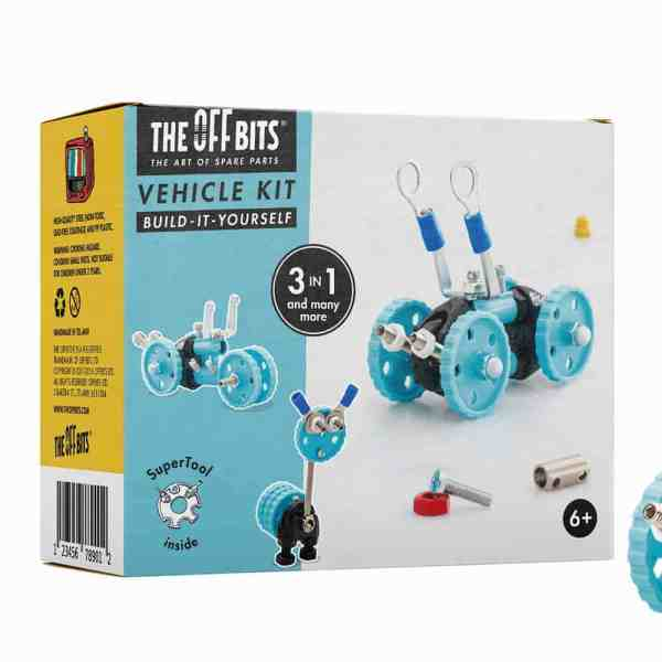 Vehicle Kit - Blue Car - GearBit-02