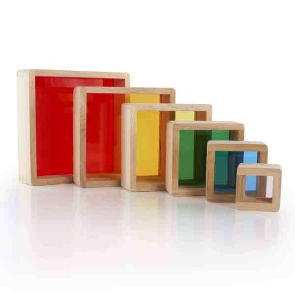 Regenbogenpyramide