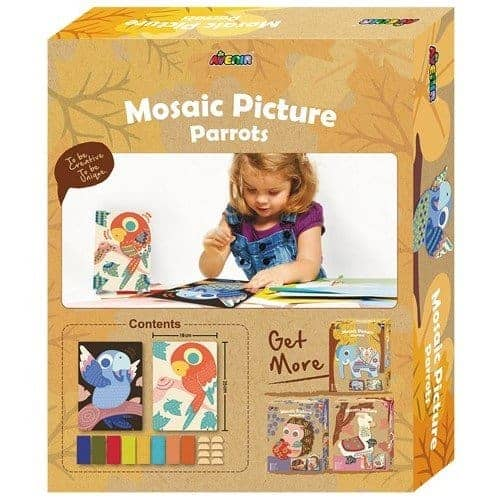 Mosaic Picture Parrot