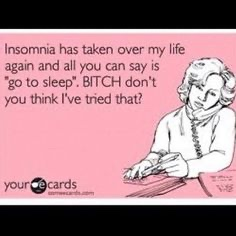Insomnia Has Taken Over My Life