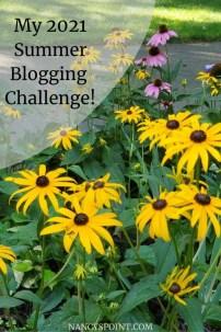 Nancy's 2021 Summer Blogging Challenge