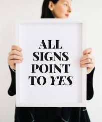 All signs point to Yes