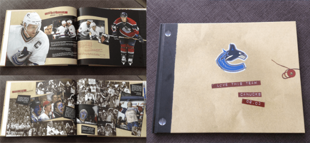 02-03 Canucks Yearbook