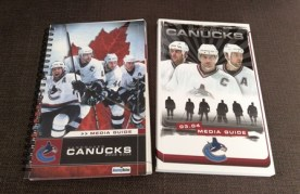 Vancouver Canucks media guides