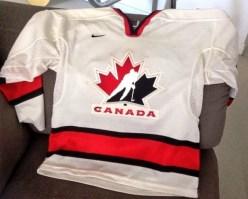 $10 - Hockey Canada jersey, youth size medium