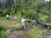 And muddy...