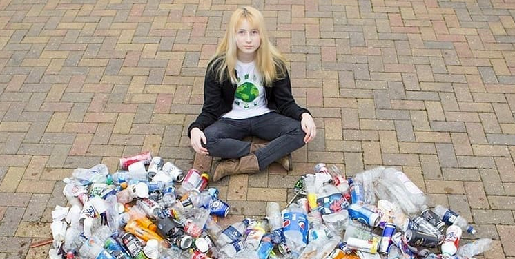 "Bullied ""Trash Girl,"" shares views on conservation after moving schools"