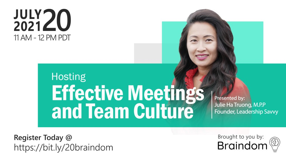 Hosting Effective Meetings and Team Culture
