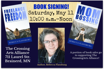 Rebecca Flansburg Book Signing Crossing Arts Alliance