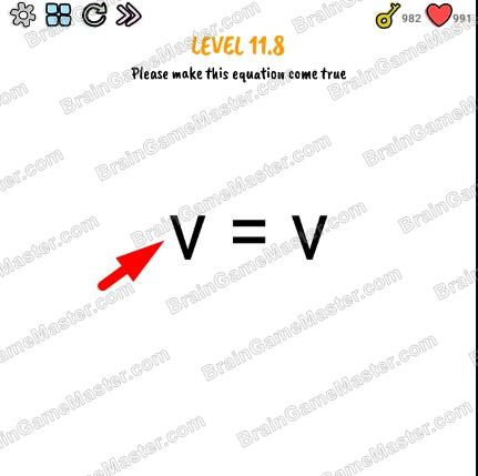 The answer to level 11.0, 11.1, 11.2, 11.3, 11.4, 11.5, 11