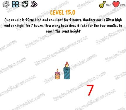 The answer to level 15.0, 15.1, 15.2, 15.3, 15.4, 15.5, 15