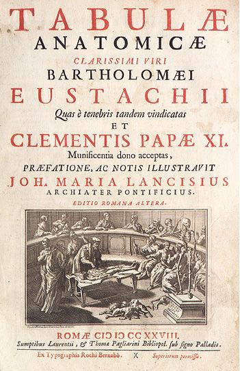 Bartolomeo Eustachio Tabulae Anatomicae