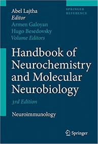 Handbook of Neurochemistry Neuroimmunology