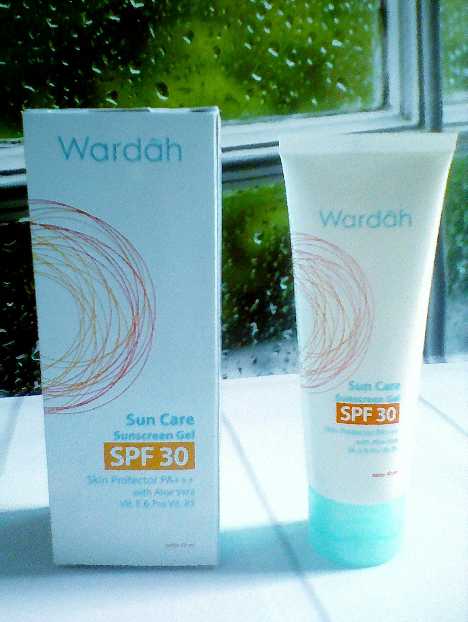 Review Wardah Sunscreen Gel : review, wardah, sunscreen, REVIEW:, Wardah, Sunscreen, PA+++, Brain, Bottle