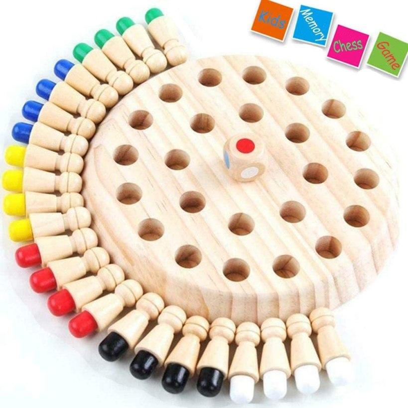 Wooden Memory Matchstick