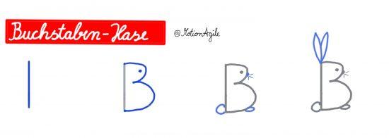 Buchstabenhase