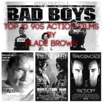 Top 10 90s Action Films by Blade Brown