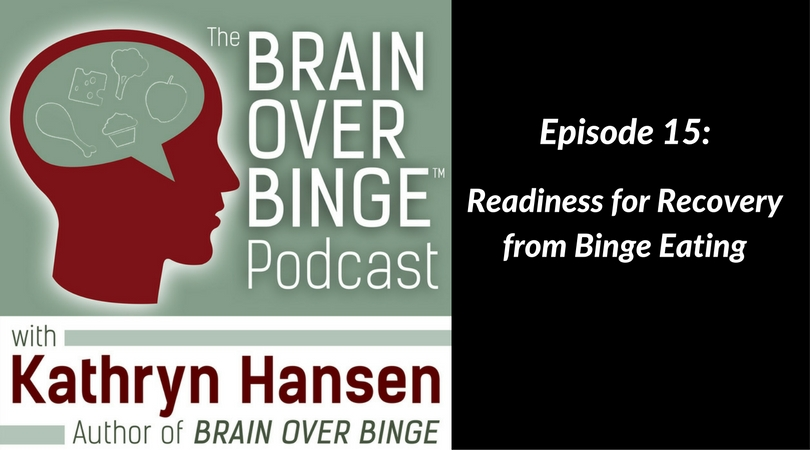 Readiness for recovery from binge eating