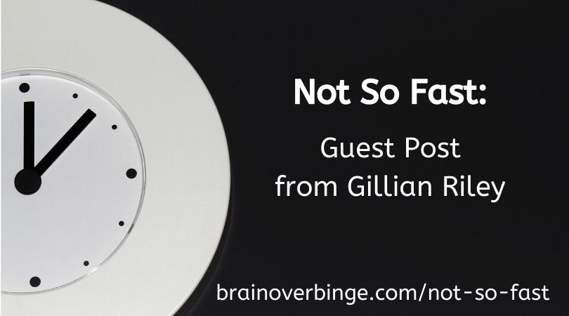 Gillian Riley fasting and binge eating