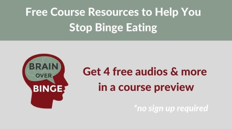 Free help for binge eating (course preview)