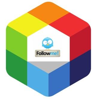 rainbow for twitter