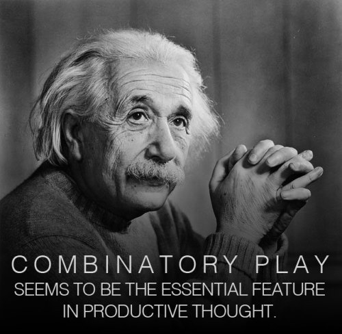 how einstein thought why combinatory play is the secret