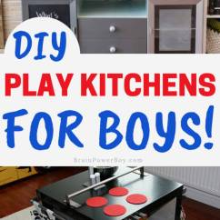 Play Kitchens For Boys Lowes Kitchen Ceiling Light Fixtures Diy Which One Will You Make If Have A Boy And Want To Him