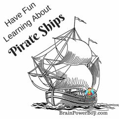 Parts Of A Pirate Ship Diagram Grundfos Pump Plan Wiring Ships Homeschool Unit Study Pirates Use This To Learn About Fun Learning For Boys With Videos