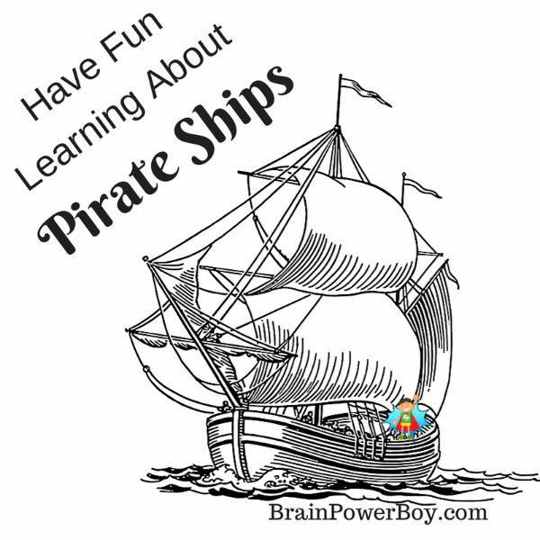 parts of a pirate ship diagram circuit clipper and clamper ships homeschool unit study pirates use this to learn about fun learning for boys with videos