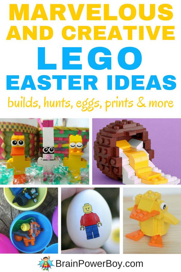 awesome lego easter ideas