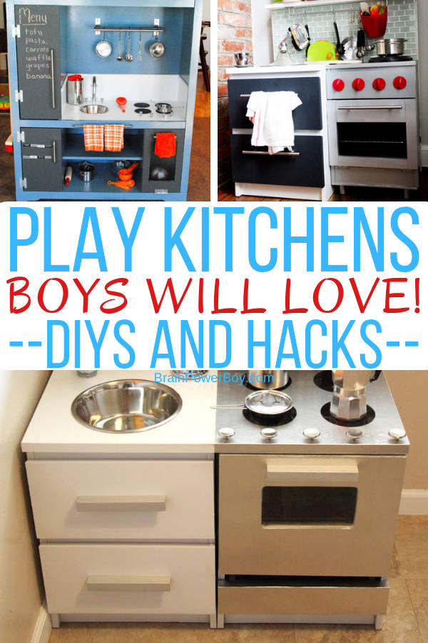 play kitchens for boys kitchen chandalier diy which one will you make have to see these incredible that are perfect