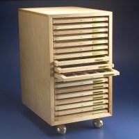 Brain Research Laboratories  Slide Tray Cabinet
