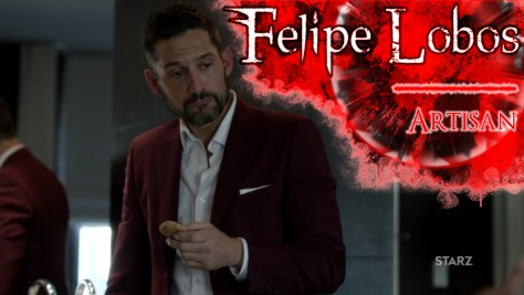 Felipe Lobos, Power, Starz, Enrique Murciano
