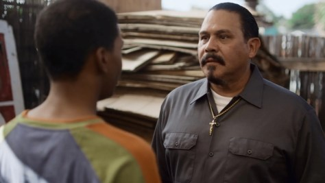 Chivo, On My Block, Netflix, Crazy Cat Lady Productions, Emilio Rivera