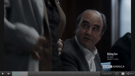 Bill Pargrave, Killing Eve, BBC America, IMG, Sid Gentle Films, David Haig