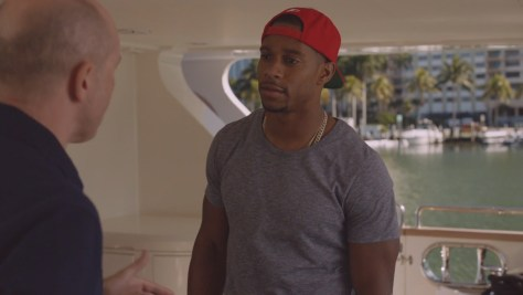 Victor Cruz, Ballers, HBO, Home Box Office Inc., HBO Entertainment, Warner Bros. Television Distribution, Film 44, Seven Bucks Entertainment, Leverage Entertainment, Closest to the Hole Productions
